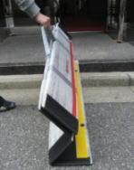 折りたたみ式スロープ